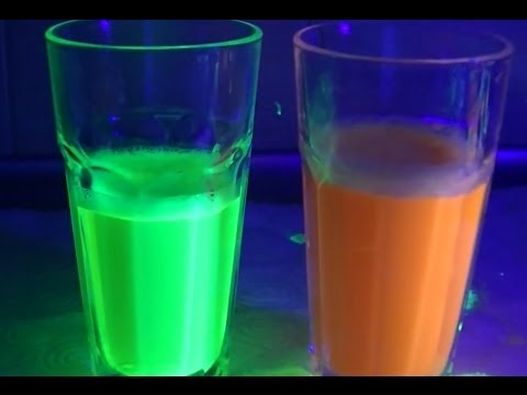 Version 2: How to make amazing glow water with highlighter HD