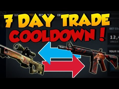 NEW UPDATE: 7-DAY COOLDOWN WHEN TRADING CS:GO ITEMS / SKINS
