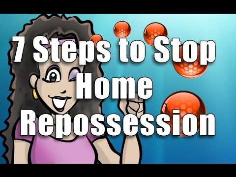 7 Steps to Stop Home Repossession