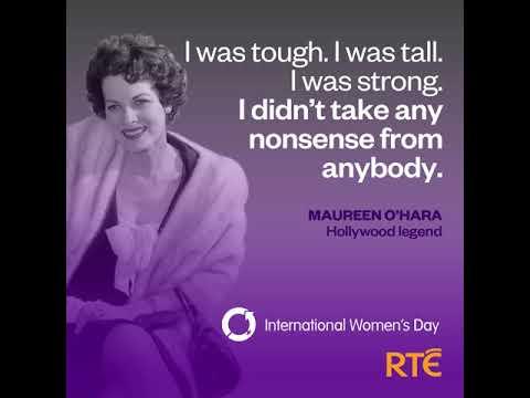 International Women's Day on RTÉ | Maureen O'Hara