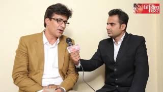 Lalit Narayan Jha talks with famous Bollywood actor Narendra Jha