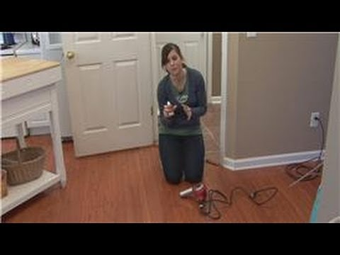 Cleaning Tips : How to Remove Glue From a Hardwood Floor