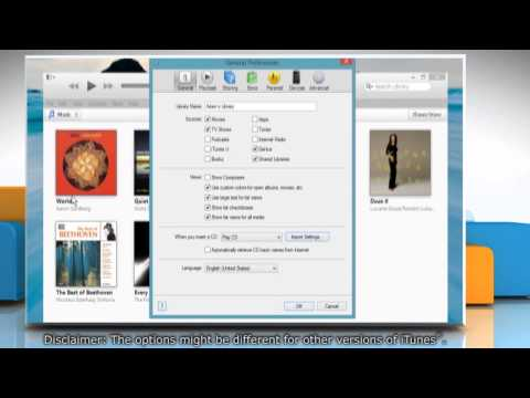 How to set iTunes® to check for new software updates automatically in Windows® 8.1
