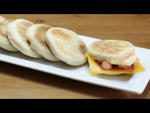 How to Make English Muffins | Easy English Muffins McDonalds Egg McMuffin Copy Cat Recipe