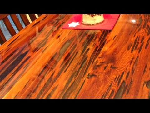 Reclaimed Farmhouse Epoxy Table | How To Make - Woodworking