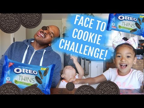 FACE TO COOKIE CHALLENGE!!!