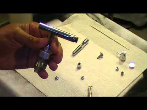 How To Clean Your Airbrush Gun