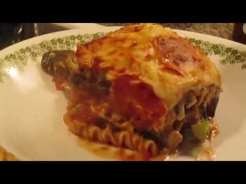 Mushroom Broccoli & Pea Lasagna