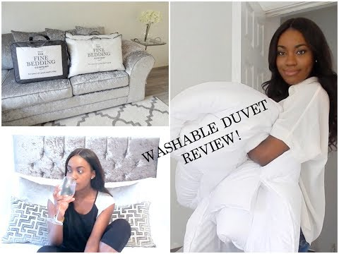 How often do you wash your duvet? | THE FINE BEDDING CO. REVIEW! #AD
