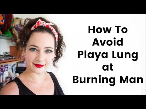 How to Avoid Playa Lung at Burning Man