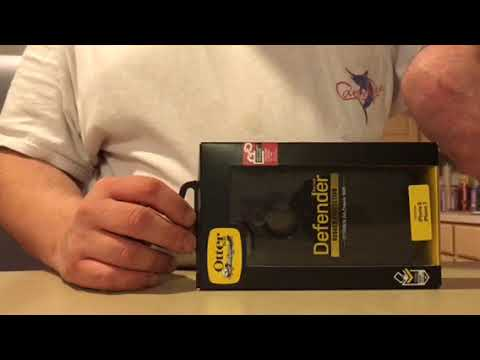 Otterbox Defender Case & Apple Lighting Cable Unboxing