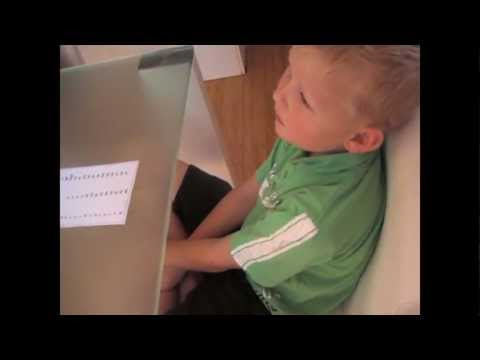 'Reading Whisperer tests reading level of a 5 year old - test reading & spelling