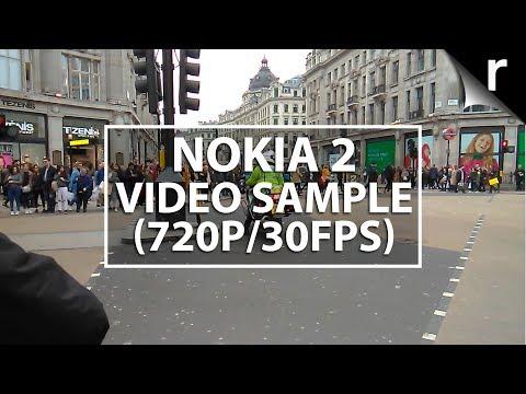 Nokia 2 video sample (720p/30fps)