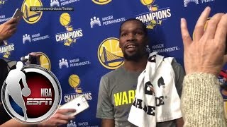 Kevin Durant on Rockets
