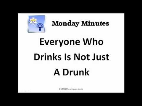 EMS Alcohol Poisoning Treatment | DT's