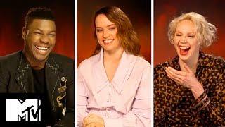 Star Wars: The Last Jedi Cast Reveal FUNNIEST Moments | MTV Movies