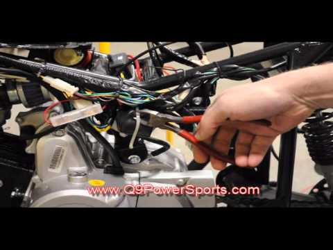 Troubleshooting a Chinese ATV starter Relay and Starter | Q9 PowerSports USA