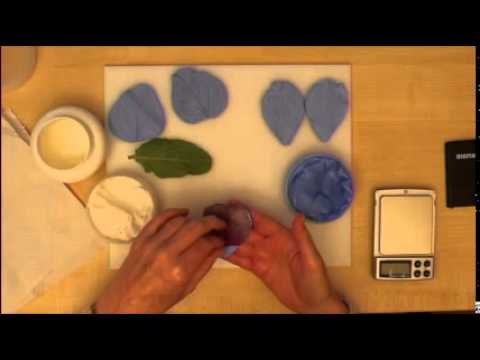 Making Silicone Veiners for gum paste/sugarpaste/porcelain