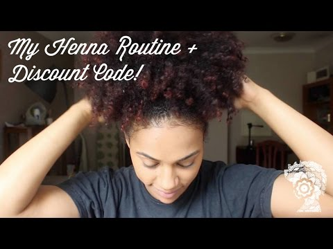 My Henna Routine + Discount Code!