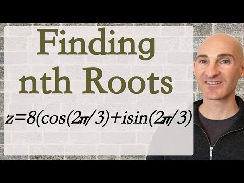 Finding nth Roots of a Complex Number