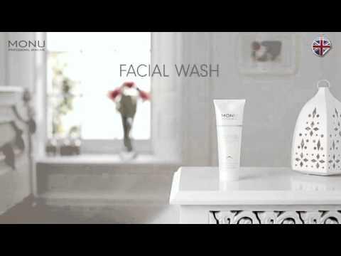MONU Energising Facial Wash  - How to use - MONU Skincare advice & tips