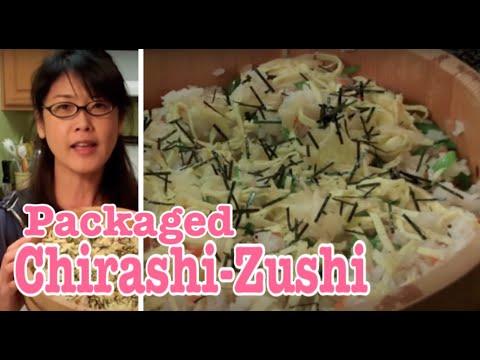 Sushi Recipe Home made Chirashi zushi