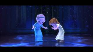 Frozen (2013) - Elsa and Anna (French)
