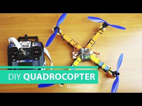 How to Make a QUADCOPTER at Home // HomeCraft