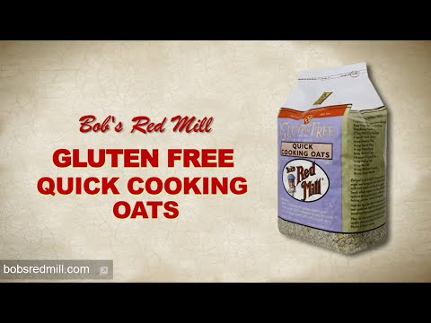 Gluten Free Quick Cooking Oats   Bob's Red Mill