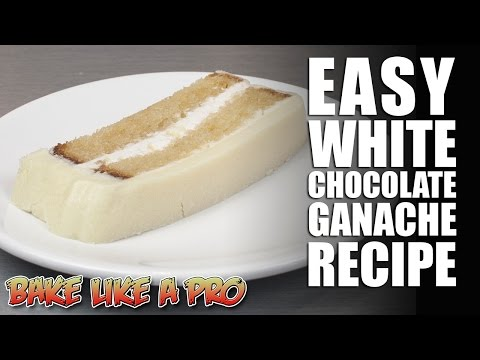 Easy White Chocolate Ganache Recipe