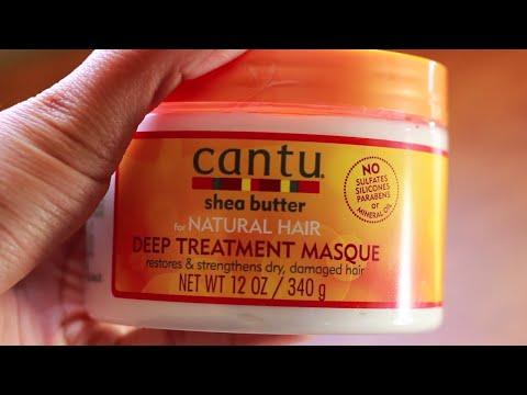 Cantu Deep Treatment Masque Review | 2c 3a hair| Curly Hair Mondays