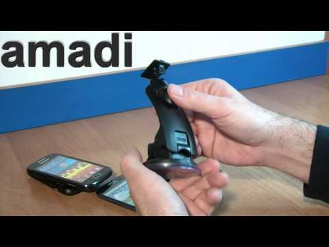 Najlepszy Uchwyt Samochodowy Do Telefonów Komórkowych - eXtreme model M - Samsung HTC Nokia Sony Lg