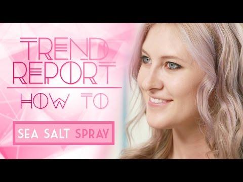 Trend Report: How To Use Sea Salt Hair Spray ft Octavio Molina