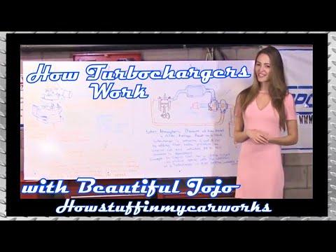 British Beauty Jojo explaining how Turbochargers Work