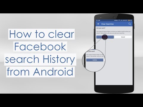 How To Clear Searches on Facebook on Android