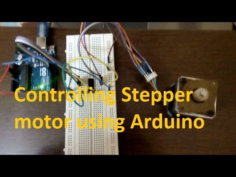 Arduino 3: Controlling Stepper Motor Using Arduino | Unipoloar and Bipolar Stepper Motor  #arduino