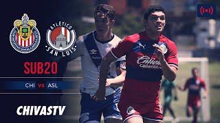 EN VIVO: Chivas vs. Atlético San Luis | Jornada 4 | LigaMX Sub20 | Apertura 2019 | CHIVASTV