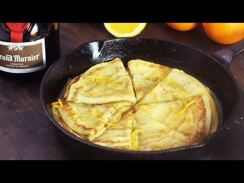 Crêpes Suzette Recipe