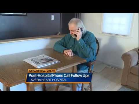 Post surgery discharge phone call follow ups - Medical Minute