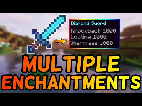 How To Put Multiple Enchantments Onto 1 Item in Minecraft 1 13