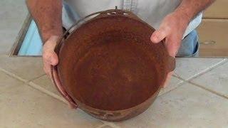 Restoring Cast Iron Cookware
