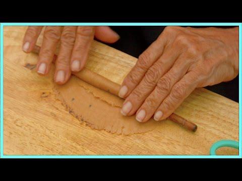 Grandma Golden Rolled Wafer Curl, Traditional dessert  sweetmeat
