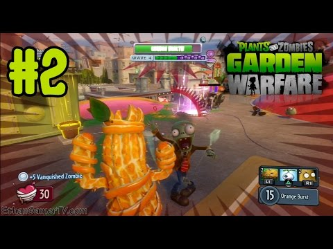 Playing Plants vs Zombies Garden Warfare (#2) (PS3) (KID GAMING)