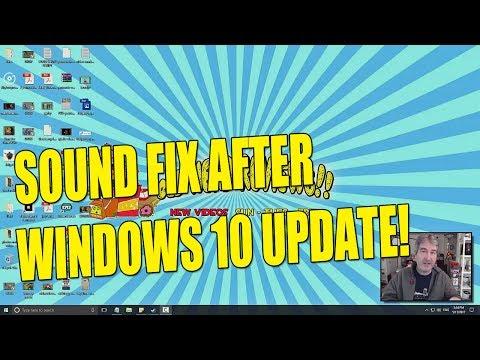 Bad Sound After Windows 10 Creators Update (FIX)