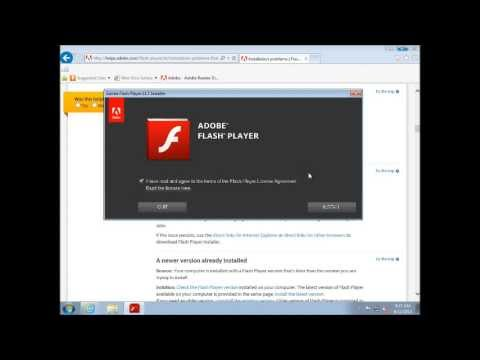 How to update your flash player