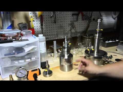 Tamisium Siphon Cap on butane oil extractor preventing closed loop