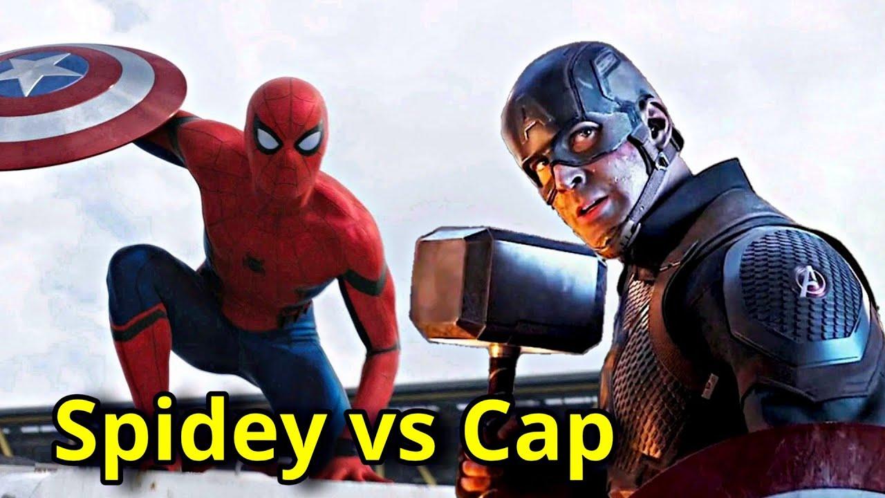 Spider-Man vs Captain America Explained In HINDI | Captain America & Spiderman Comparison In HINDI
