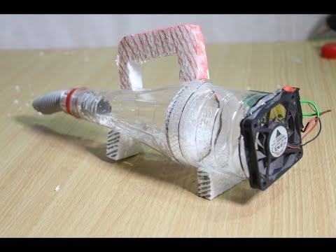 How to Make Silent Vacuum Cleaner - Simple Homemade Project