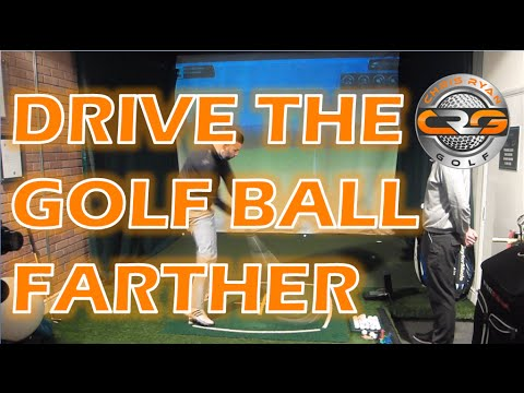 HOW TO DRIVE THE GOLF BALL FARTHER