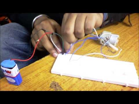 Speed Control of DC Motor using Potentiometer
